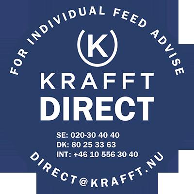 Krafft har ett brett sortiment av hästfoder. För din hjälp kan du kontakta dem på 020-30 40 40, så kan de hjälpa dig med frågor om deras foder