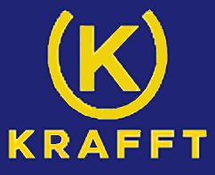 Det här är Krafft's foder nya logga