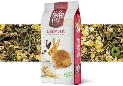 Hobby First Cuni Kaninmüsli, 15 kg köper du för 239 kronor på Tungelstaboden