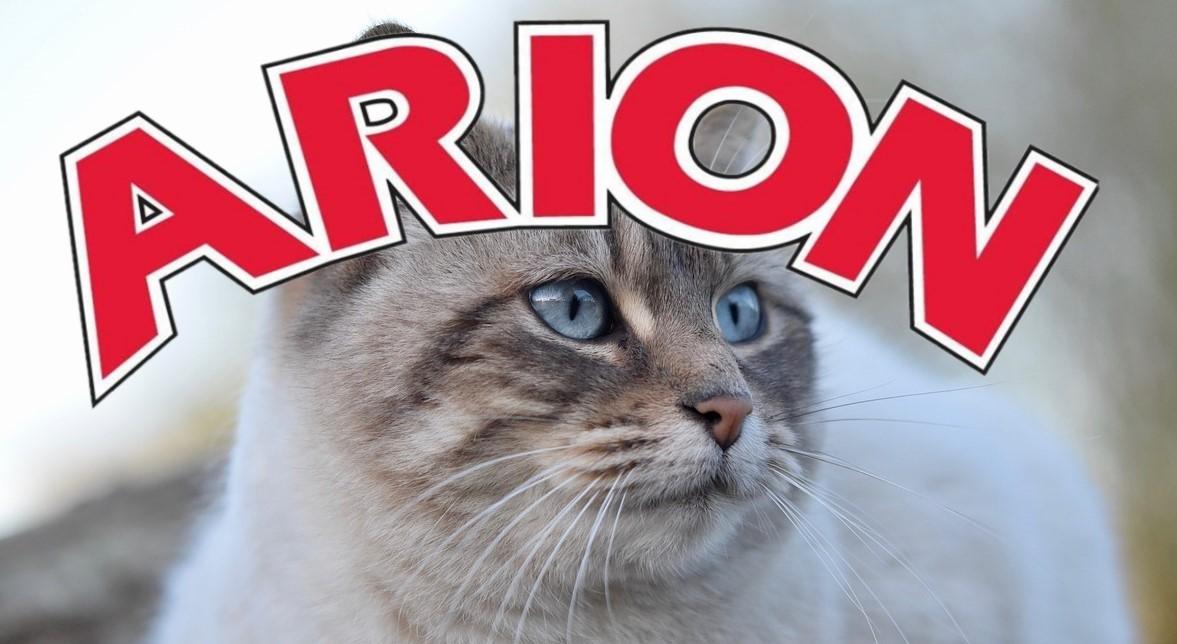 Arion med katt