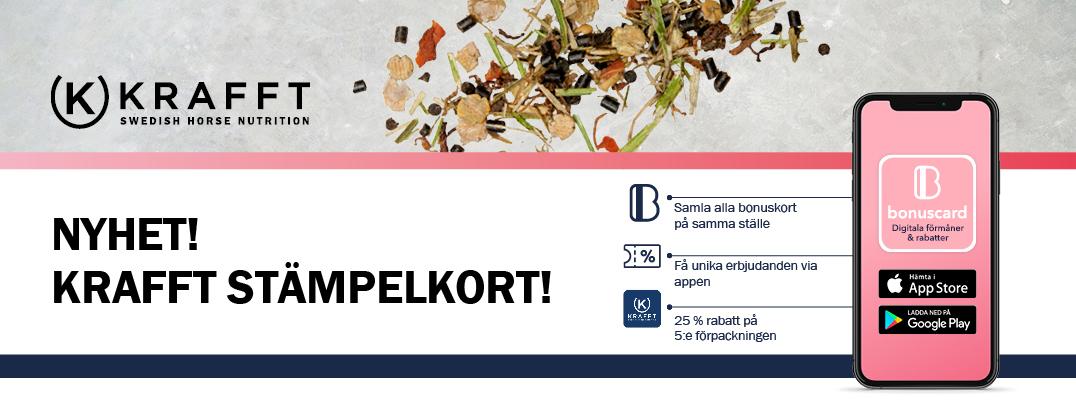 Nyhet Krafft Stämpelkort